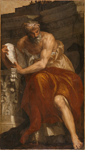 LACMA (Los Angeles) - Allegory of Navigation with an Astrolabe: Ptolemy (Paolo Caliari Veronese - 1557)