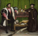 National Gallery (London) - The Ambassadors (Hans Holbein the Younger - 1533)